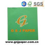 Chico de color verde de la tarjeta de uso de las artes para la venta de papel