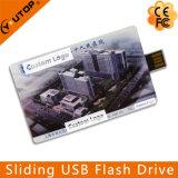 Kundenspezifisches Geschenk, das Kreditkarte USB-Speicher-Stock (YT-3111, schiebt)
