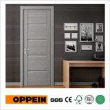 2017 Nuevo diseño de interiores de melamina gris Swing de la puerta de la CPL (YDF005D)