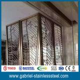 Diviseur de pièce perforé décoratif en métal d'écran en métal