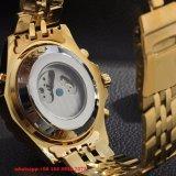 Automatisch Horloge, het Horloge Fs435 van het Roestvrij staal van de Manier