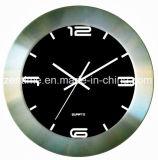 El reloj de pared del cuarzo del marco del metal para la decoración casera en diseño caliente