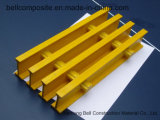 Gratings de FRP/GRP Pultruded, Grating da fibra de vidro T-5020, Grating. plástico de Pultruded