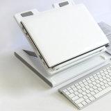 Home Office réglable Lapdesk de hauteur de refroidisseur de support de tablette d'ordinateur portatif
