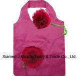 Il sacchetto di acquisto pieghevole dei regali fiorisce lo stile della Rosa, i sacchetti riutilizzabili, leggeri, di drogheria e pratico, accessori & decorazione, promozione