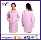 Anti vêtements statiques et vêtements de Cleanroom de produits de textile