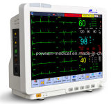 """15.1 """" LCD het Waterdichte Scherm van de Aanraking, HartOutput, Drager de Geduldige Monitor van het Gas ICU"""