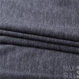 Tessuto delle lane della lavata della macchina con buona elasticità per il Nightdress nel nero chiaro