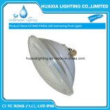 Luz subacuática de cristal gruesa impermeable de la piscina del LED
