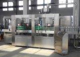 Cadena de producción del agua automática de la bebida/agua de botella que capsulan de relleno que se lavan /Machine