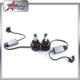 Bulbos H1 H3 H4 H7 H11 9005 do farol do diodo emissor de luz do carro de Turbo do poder superior 9006 luz principal do diodo emissor de luz de 30W 3600lm