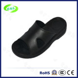 Blalck PU Leather ESD Slipper (EGS-PU-904)
