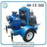 Individu de 8 pouces amorçant la pompe diesel centrifuge horizontale de cambouis