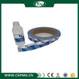 Escrituras de la etiqueta modificadas para requisitos particulares de la película plástica BOPP de las botellas redondas
