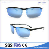 مصمّم عادة كلاسيكيّة معدن نظّارات شمس رجال يستقطب عدسة
