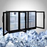 Реклама построенная в заморозке замораживателя Undercounter свободно в 1, 2 или 3 дверях