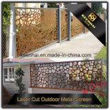 Großverkauf-horizontaler Laser-Schnitt Lowes Aluminiumzaun-Panel-Preise