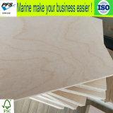 madera contrachapada del abedul blanco de 18m m para los muebles con la alta calidad hecha en China