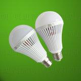 lámpara recargable de la luz de bulbo de 7W 9W LED LED