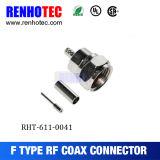 Câble d'alimentation CATV à faible coût Compression par câble F Connecteur mâle