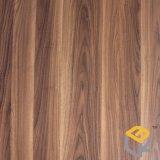 Papier décoratif imbibé par mélamine en bois de qualité environnementale des graines de noix pour les meubles, porte de fournisseur de la Chine