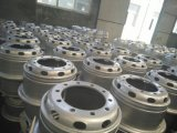 取りはずし可能な縁22.5X8.25のチューブレス鋼鉄車輪