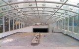 Estructura de acero Q235 de la cortina