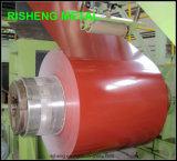 Todos os tipos cor principal de bobinas revestidas do aço de Galvanzied