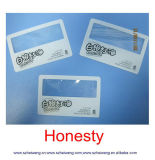 Personalizado tarjeta del bolsillo Tamaño Tamaño de la lupa de la lente de plástico