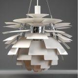 Proyecto de Alunimum que cuelga la lámpara pendiente de la reproducción moderna ligera