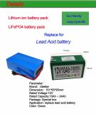 Lithium-Ionenbatterie-Satz für HauptSonnensystem-Energie-Speicher 12V10ah