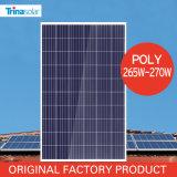 Poly panneau solaire 265W-275W de Trina 5bb pour l'éclairage à la maison
