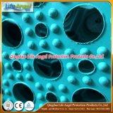 Stuoia di gomma della gomma dell'erba di protezione della stuoia della cavità di gomma della stuoia di colore del nero di colore rosso blu