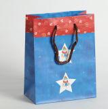 Kundenspezifische PapierEinkaufstasche mit Griff für Verpackung (SW109)