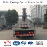 de Vrachtwagen van 18m Isuzu Nkr met het LuchtPlatform van het Werk
