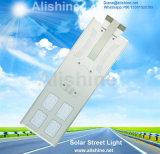 luz de rua solar Integrated do diodo emissor de luz da lâmpada ao ar livre do jardim 50watt