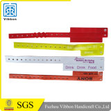 Divertissement Plastic Full Color Printing ID Bracelet Bracelet