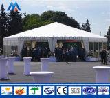 展覧会のための白いPVC上塗を施してある明確なスパンの玄関ひさし党テント