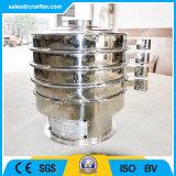 Machine vibrante en poudre de tamis de lait de l'acier inoxydable 304