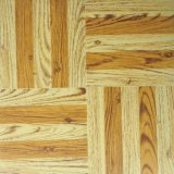 Haltbare Belüftung-hölzerne Korn Vinly Fußboden-Fliesen
