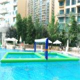 Sport di pallavolo dell'acqua, corte di pallavolo dell'acqua, gioco di pallavolo dell'acqua