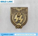 El metal hace el recuerdo militar del Pin a mano del panecillo del metal del emblema del ejército