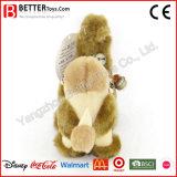 현실적 연약한 박제 동물 견면 벨벳 낙타 장난감