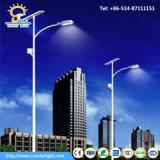 8m 60W LEDのポーランド人の電池のこつの太陽街灯