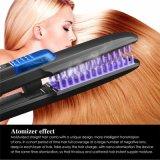 Cepillo nano vivo rápido de la enderezadora del pelo de la atomización