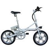 Bici eléctrica de la bici de la ayuda E del pedal de la aleación de aluminio de 16 pulgadas con los pedales