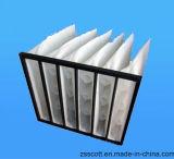De lage Filter van de Zak van de Snelheid van de Lucht voor de Filtratie van de Lucht