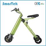 Smartek fácil lleva a peso ligero plegable la bici eléctrica 250W de Patinete Electrico con la visualización de LED del LCD/S-018-1