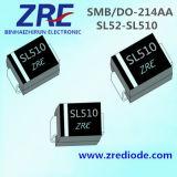 5A SL52 через пакет диода выпрямителя тока SMB/Do-214AA барьера SL510L Schottky