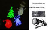 Indicatore luminoso di progetto del LED con 12 trasparenze intercambiabili per le decorazioni di festa